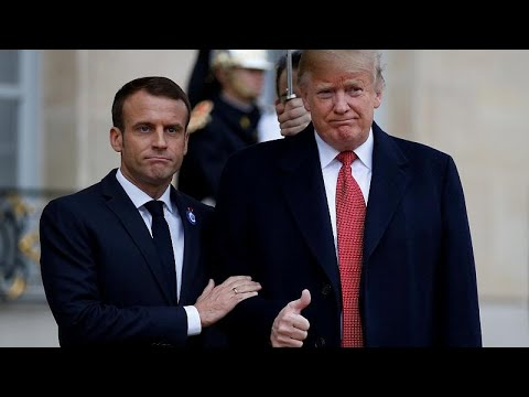 Trump und Macron sind sich bei europäischer Verteidig ...