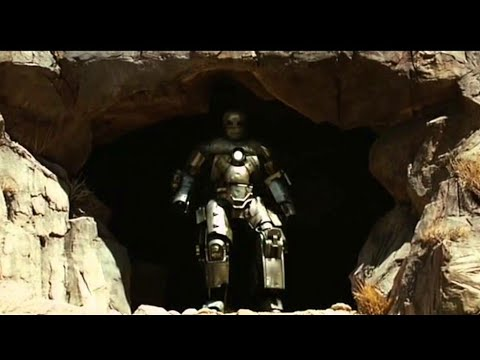 Iron Man (2008) Cave Full Battle Robert Downey Jr Movie Marvel Full HD [1080p]
