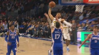 Jamal Murray Dunks on JJ Redick! Sixers vs Nuggets