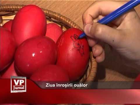 Ziua înroșirii ouălor