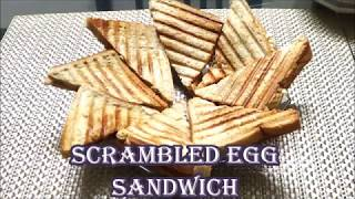 Scrambled egg sandwich is a simple, quick and easy to make recipe that can be had for breakfast or snack.For more recipes log on to http://reshuskitchen.blogspot.com/