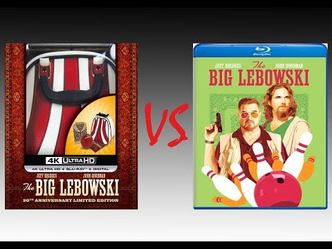 ▶ Comparison Of The Big Lebowski 4K HDR10 Vs The Big Lebowski Blu-Ray Edition