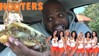 HOOTERS PHILLY CHEESESTEAK