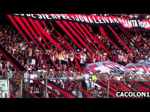 BORRACHO, ROJO Y NEGRO YO TE VENGO A VER - Colon 2 vs Aldosivi 0 - Los de Siempre - Colón