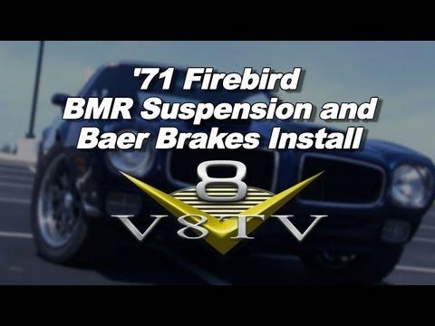 1971 Pontiac Firebird BMR Torque Arm & Baer Brakes Install Video V8TV