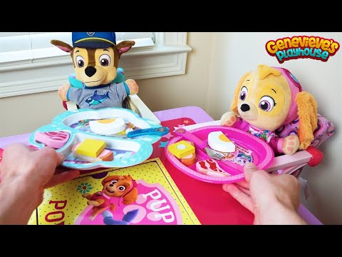Paw Patrol's Skye, Chase, Marshall, and Rubble Best Baby Pup Episode Compilation!