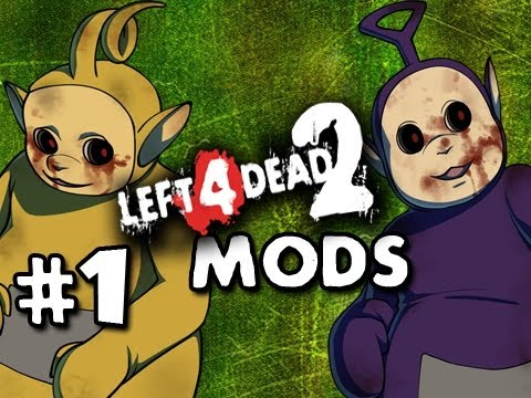 ZOMBIE TELETUBBIES - Left 4 Dead 2 Mods w/Nova Sp00n &amp; Kootra Ep.1 Video