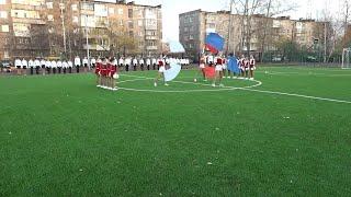 Подарок к 300-летию города получили педагоги и учащиеся школы № 13. Там торжественно открыли новый спортивный комплекс