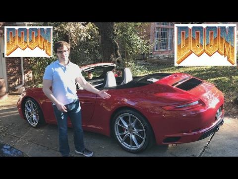 Playing Doom on a Porsche 911