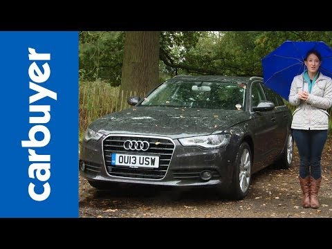 Audi A6 Avant estate 2014 review – Carbuyer
