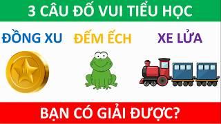 Ba câu đố vui hại não: đồng xu, đếm ếch, xe lửa - bạn có giải được? | Năng Khiếu Việt