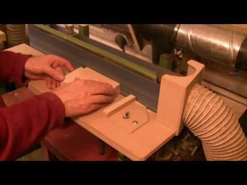 Woodworking with Jeremy Broun - Abrading: the linisher