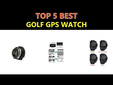 Best Golf GPS Watch 2019
