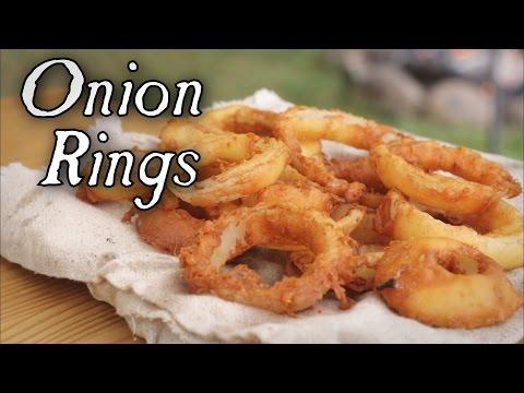 Συνταγή για onion rings όπως τα έφτιαχναν τον 18ο αιώνα!