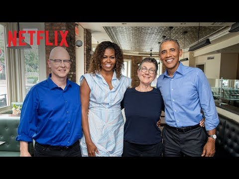 The Obama's Hollywood Debut