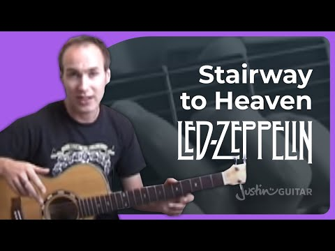 Stairway To Heaven #1of6 (Songs Guitar Lesson ST-314) How to play