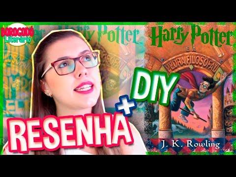 Harry Potter e a Pedra Filosofal | Resenha | DIY | por Borogodó Literário
