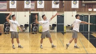 Video FLOAT Serve - How to SERVE a Volleyball Tutorial (part 1/3) MP3, 3GP, MP4, WEBM, AVI, FLV Juli 2018