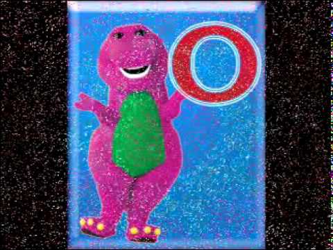 las vocales   Barney