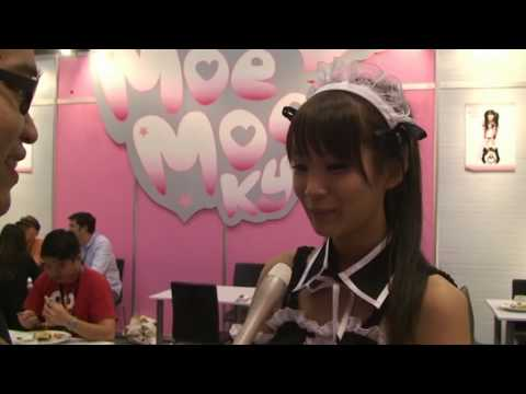 Interview with Moe Moe Kyun Cafe girls.mpg (видео)