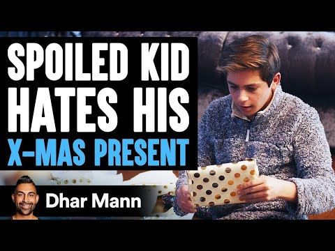 Spoiled Kid Hates His Present Until He Learns Shocking Truth | Dhar Mann