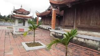 Thành sơn phòng đền thờ vua Hàm Nghi Phú gia Hương...