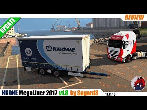 Krone MegaLiner 2017 by Sogard3 v1.8 1.32.x