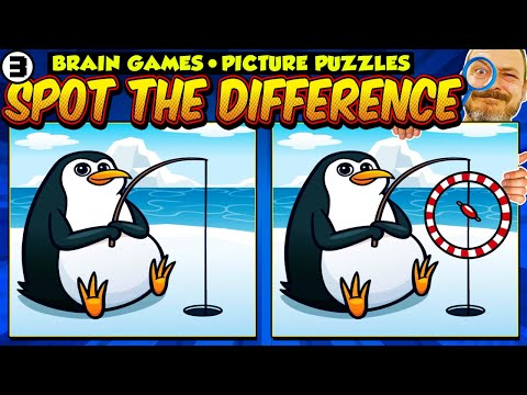 Spot the Difference for Kids (Brain Games For Kids 3)