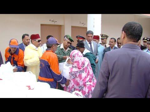 إقليم كلميم ..استفادة أزيد من 10 آلاف أسرة من عملية الدعم الغذائي (رمضان 1439
