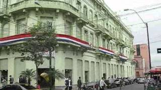 Asuncion Paraguay  city images : PARAGUAY ASUNCION RECORRIDO POR CALLES DEL CENTRO HISTORICO