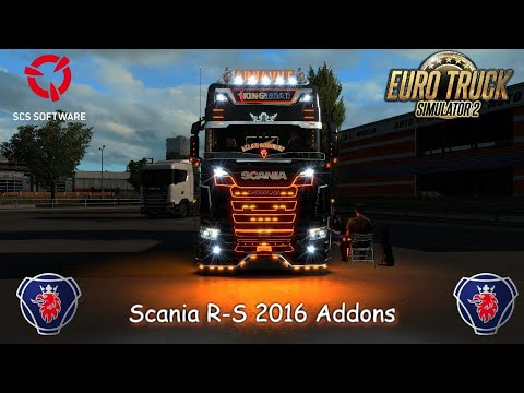 Scania R-S Addons v5.6 1.38