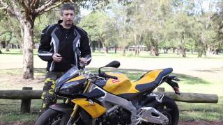 8. Aprilia Tuono V4 - Featured road bike test