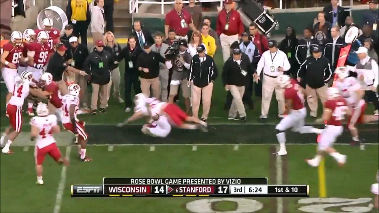David Yankey vs Wisconsin (2012 Bowl)