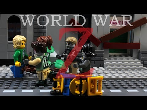 Lego Zombie World War Z - Full Story