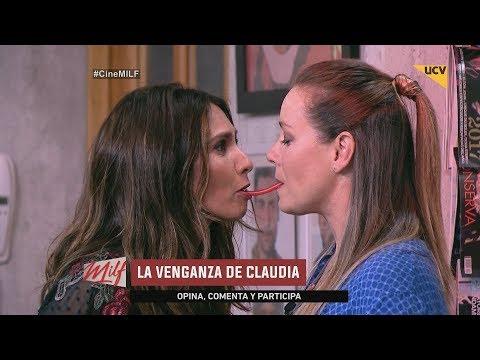 video Claudia y Yazmín juegan a la gomita en