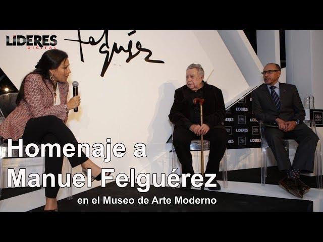 Homenaje a Manuel Felguérez