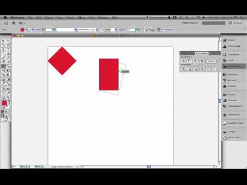 Rotating Objects In Illustrator