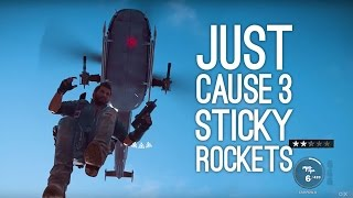 Just Cause 3 sticky rocket mine gameplay