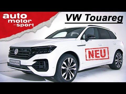 Der neue VW Touareg (2018): Erste Sitzprobe - Neuvors ...