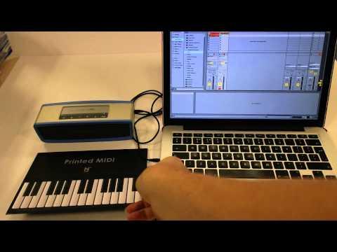 Printed MIDI