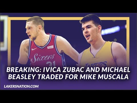 Video: Lakers News: Ivica Zubac & Michael Beasley Have Been Traded to the Clippers for Mike Muscala