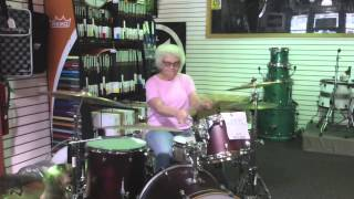 Granny Drummer