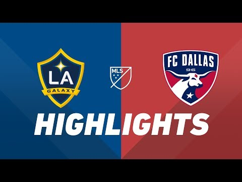 Video: LA Galaxy vs. FC Dallas | HIGHLIGHTS - August 14, 2019