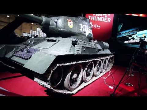 INVASION Labs на стенде War Thunder (Gaijin) - Игромир 2013.