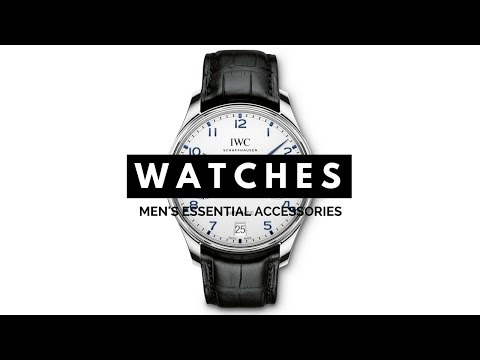 , title : '3 Watches Every Man Should Have - Dress, Chronograph, Diving, Sport - IWC, Rolex, Omega, Nomos'
