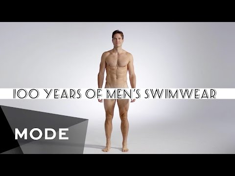 100 Years of Men  s Swimwear