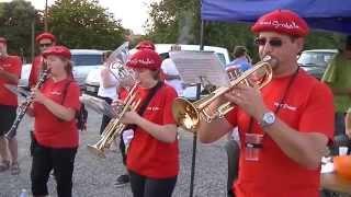 Merville (Haute-Garonne) France  city photos gallery : Banda Tapas Cymbales Fête de la musique 2014 Le Burgaud (31 Haute-Garonne) Flamenco Trumpets