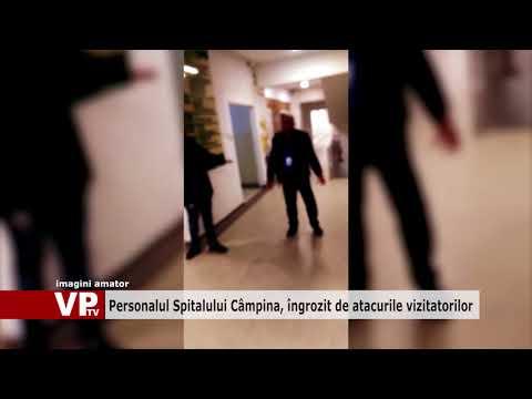 Personalul Spitalului Câmpina, îngrozit de atacurile vizitatorilor