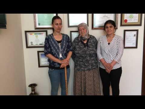 Feride Kuzu - Bel Fıtığı Hastası - Prof. Dr. Orhan Şen