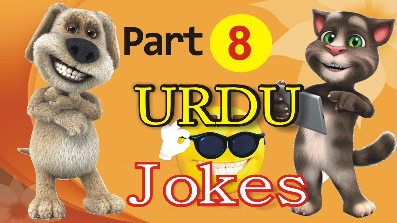 Funny Jokes in Hindi Urdu Talking Tom & Ben News Episode 8